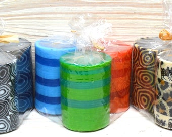 Swazi Candles 1/4 Church Candle Gift Pack