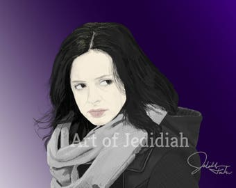 Jessica Jones Digital Art