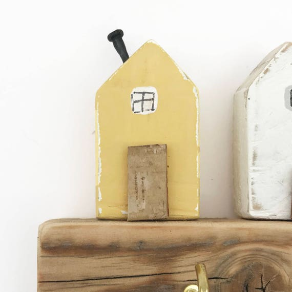 Tiny House Key Rack Wall Key Holder Key Hooks Wall Hooks