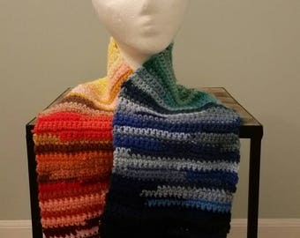 Rainbow spectrum infinity scarf