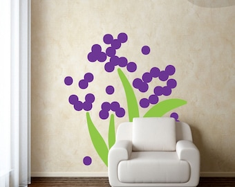 No Water Required - Flower Vinyl Wall Decal