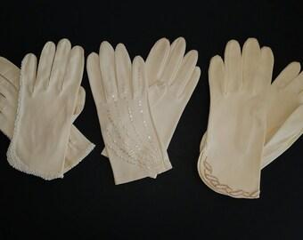 Women's Vintage Gloves