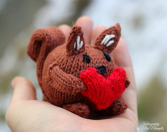 Squirrel knitting pattern pdf for beginners and advanced squirrel knitting pattern pdf for beginners and advanced knitters spring gift and decoration easter gift for kids and adults negle Gallery