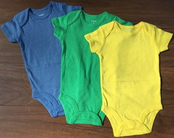 Blank Carters Bodysuits