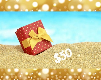 Gift Certificate for Jeanne Tierney Designs Fifty Dollars