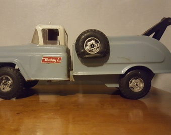 Buddy L Tow Truck Metal Toy