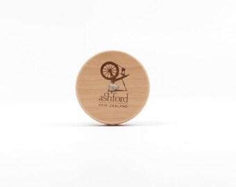 0.75oz - Ashford Top Whorl Drop Spindle & 1oz of Romney Spinning Fiber