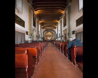 San Luis Rey Mission Chapel in California