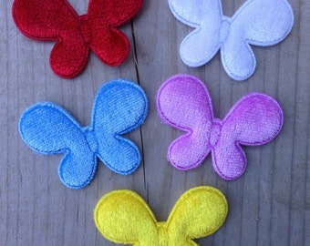 Sale - Butterfly Appliques for Making your own Hair Clips