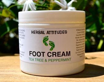 Tea Tree & Peppermint  FOOT CREAM