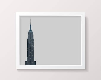 New York Empire State Building Digital Download NYC