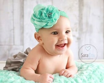Carissa Flower Headband Photo Prop