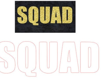 Group SQUAD T-Shirts Bulk Buy