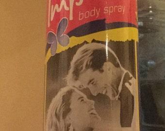 Vintage Full Spray Can of Impulse Body Spray Night Rythms