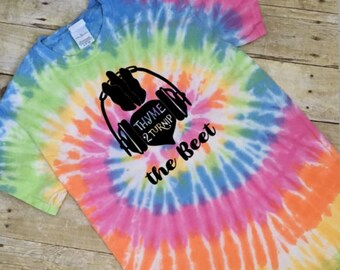 Funny Tie Dye Thyme to Turnip the Beet T Shirt