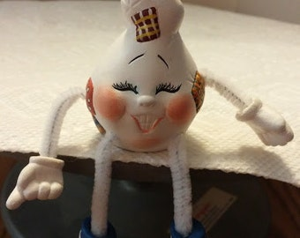 Mini Ceramic Ghost Noggin