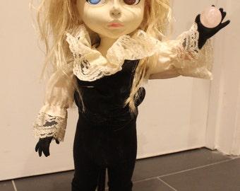 David Bowie Goblin King Jareth Labyrinth Inspired Custom OOAK Doll