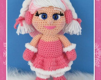 Winter Fairy Amigurumi (PDF file only, this is not the finished doll)