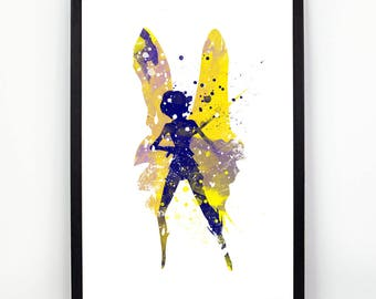 Strange Magic, Strange Magic Poster, Watercolor Strange Magic Print, Watercolor Art, Nursery Print, Nursery Wall Art,