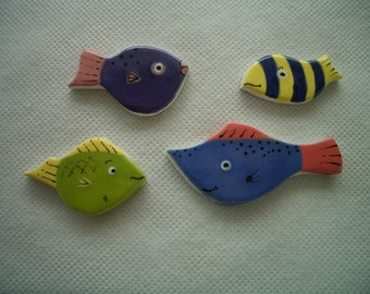 FF7 -FANTASTIC FISH - Ceramic Mosaic Tiles