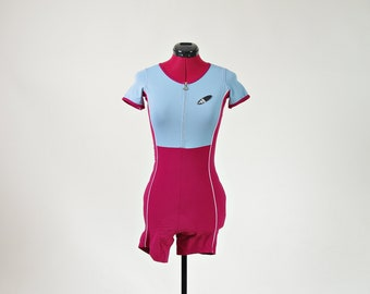 90s Adidas oldschool cycling suit / bike jersey bodysuit