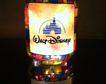 Walt Disney mason jar light