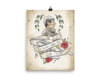 Spock Print