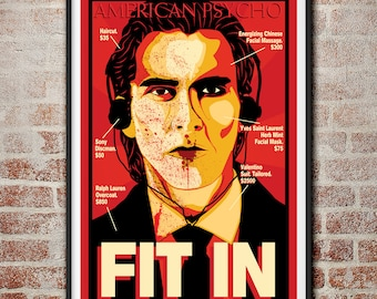 American Psycho: Fit In Movie Poster
