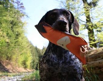 Dog Toys-Handmade-Pet toys-dummy-dummy-hunting-dog-key fob-Made in Blackwood Forest