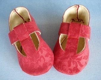 SALE - PDF ePattern Precious Mary Jane Shoe with T-Strap
