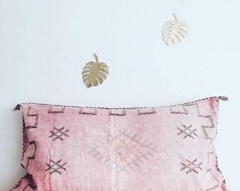 Big Pink sabra silk pillow