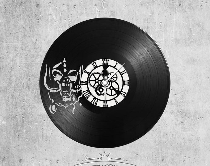 Vinyl 33 clock towers motor head theme