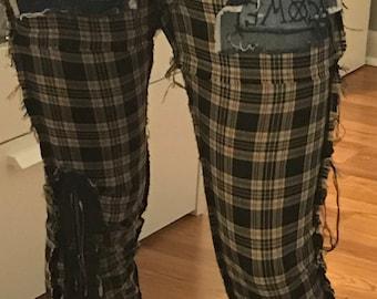 Plaid COME ALIVE Pants