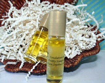 Honey Patchouli Perfume Oil Body Oil Organic Jojoba Oil Roll On Perfume made by Toadstool Soaps