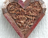 DIY Mini Small Heart Planter Living Vertical Wall Planter 7 inches by 7 inches