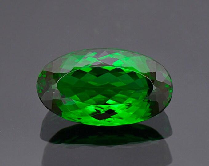FLASH SALE! World Class Green Chrome Tourmaline Gemstone from Tanzania 12.54 cts.