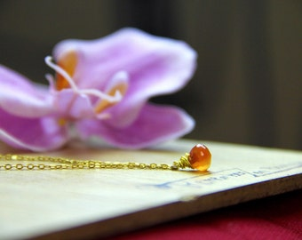 GENUINE raw Carnelian Necklace Healing Crystal Natural Stone Yoga Jewelry healing jewelry  healing jewelry positive energy