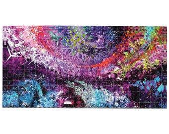 "Blotter Art - ""Blossoms of the Dark Crystal"" by Natural Warp"