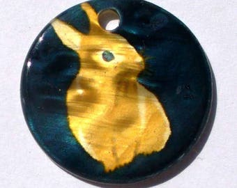 Coin Pearl 1 Rabbit 20 PNP57-11 mm hole