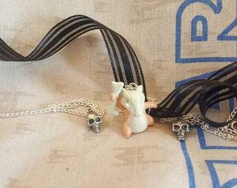 Cubone Pokemon Necklace