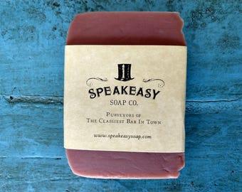 Ginger & Papaya Speakeasy Soap, vegan, handmade soap, olive oil soap