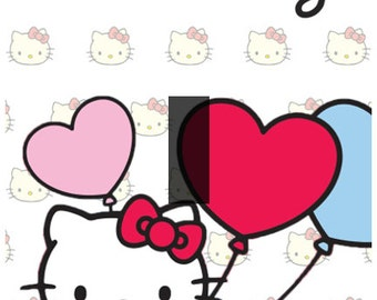 Hello Kitty Single Light Switch Plate Cover