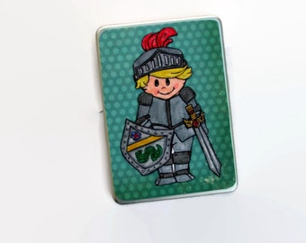 Christmas Gift for Boys, Knight Toy For Boys, Magnetic Paper Doll Set, Medieval Knight and Princess pretend toy, Travel toy for boys