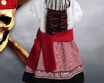 Pirate Toddler Dress
