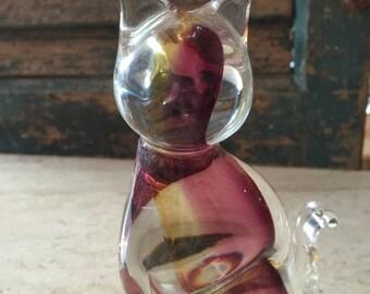 Georgeous Murano Glass Kitty
