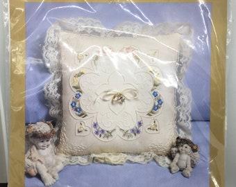 Something Special Candlewicking Wedding Pillow