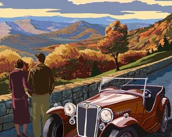 Shenandoah National Park, Virginia - Skyline Drive (Art Prints available in multiple sizes)