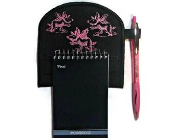 Flying pigs notepad holder