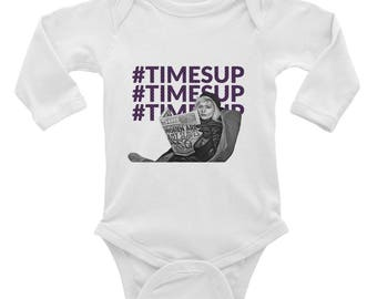 Times Up - Infant Long Sleeve Bodysuit