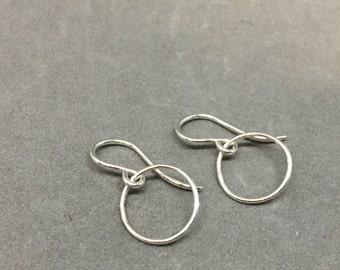 Tiny hoop earring little hoop earrings silver hoop earrings tiniest sterli g sulver hoop earrings small hoop earrings baby hoop earrings